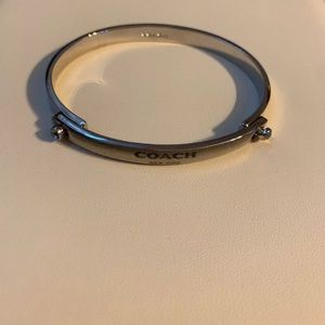 Authentic Coach sculpted bangle bracelet